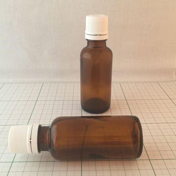 画像1: プラナロムドロップ栓付ガラス瓶 30ml (1)