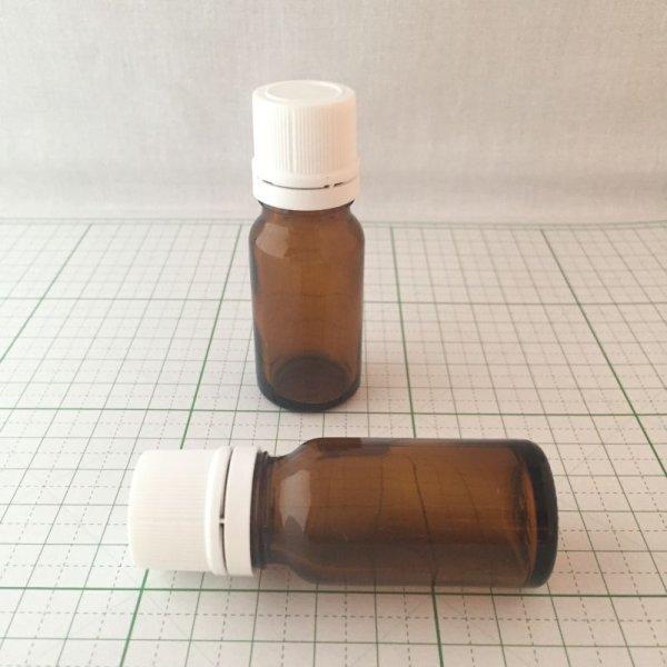 画像1: プラナロムドロップ栓付ガラス瓶 10ml (1)