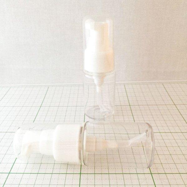 画像1: ポンプボトル クリアー 30ml (1)