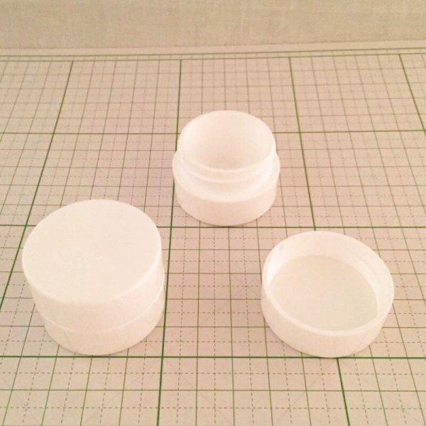 画像1: クリーム容器 10ml (1)